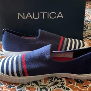 New Nautica slip on casual shoes